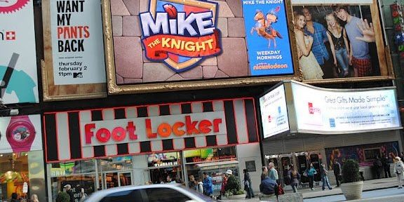 Mike the Knight just got his own billboard in Times Square, NYC!l