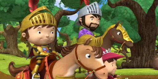 Mike the Knight movie: Journey to Dragon Mountain - now out on dvd and paperback book!