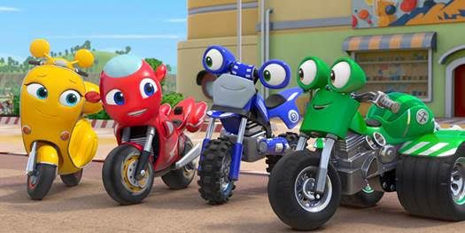 Make Room for Ricky Zoom, Entertainment One is Excited To Reveal Brand New Preschool Property